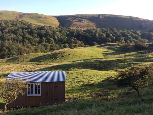 Pennine Shepherd Hut ( walking/mountain biking)