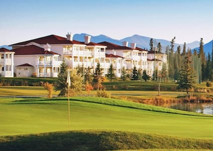 *Fairmont Hot Spgs,BC,1-Bdrm#1/C521 - Fairmont Hot Springs - Daire