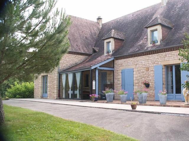 chambre d'hôte le Clos Gaillardou - La Roque-Gageac - ที่พักพร้อมอาหารเช้า