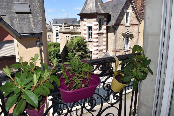 Charmant T2 centre historique de Rennes