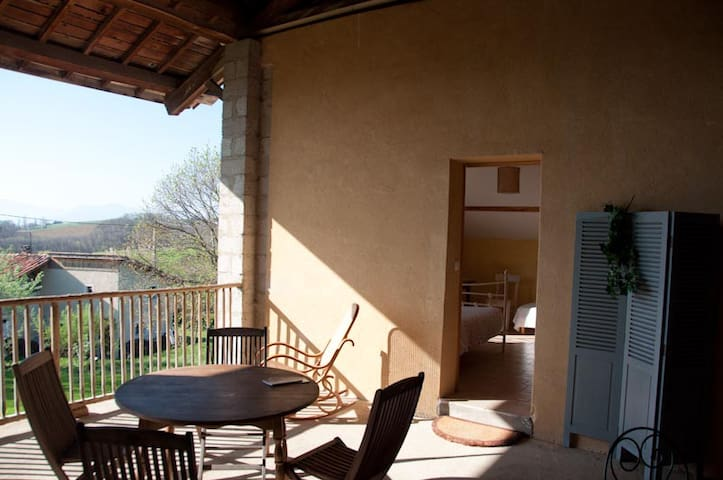 chambre vercors - Saint-Antoine-l'Abbaye - Bed & Breakfast
