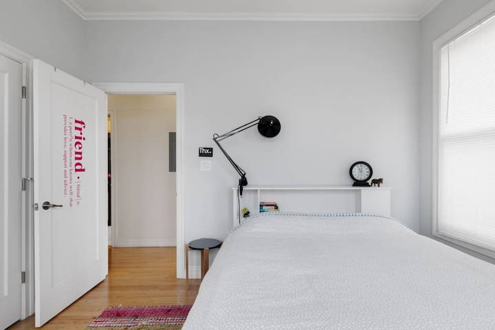 LOVELY BEDROOM IN SUNNY POTRERO HILL