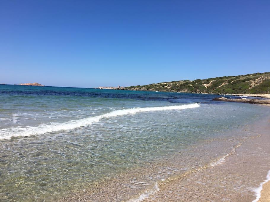 Spiaggia di Badesi Li Feruli