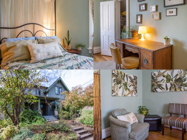 Hawthorne - Welcome to Our Hippie Haven ~ Green Rm