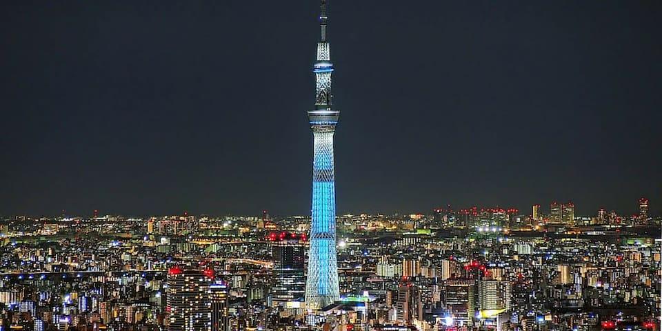 New Open!!Easy Access to Ueno,Asakusa,Shinjuku,10p - Sumida - Wohnung