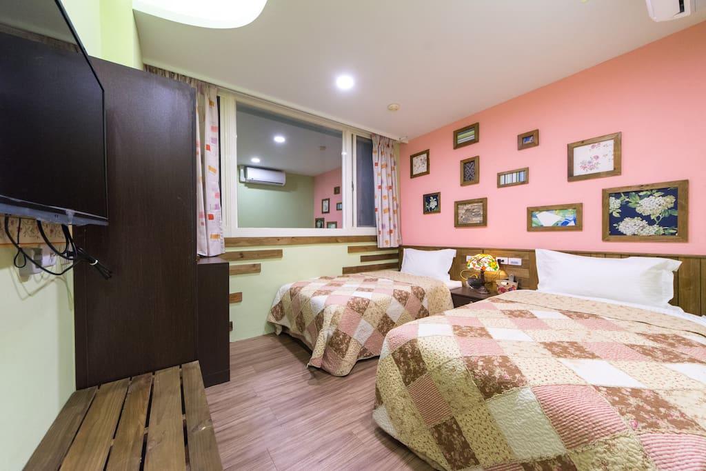 3樓溫馨雙床房