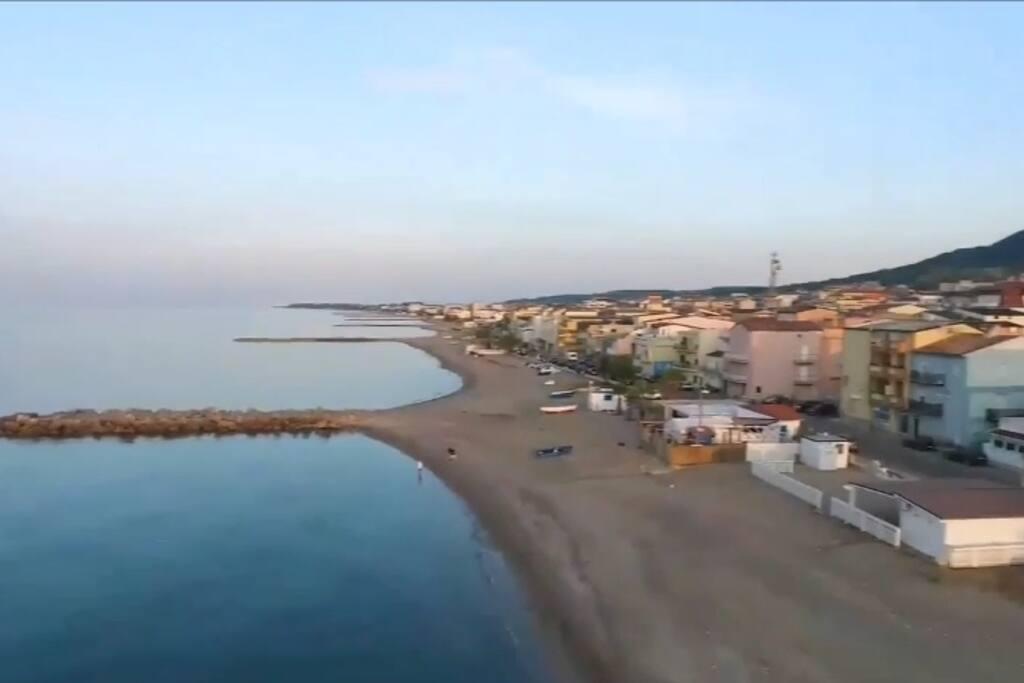 Spiaggia sotto casa