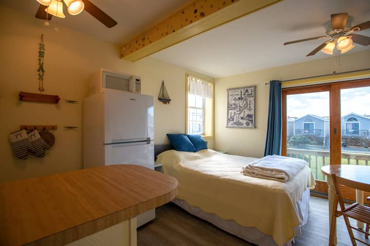 Charming Oceanfront Studio w/ Free WiFi & an Ocean View from the Rooftop Deck