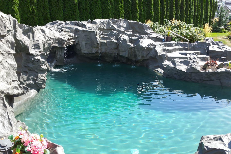 Unique custom pool!