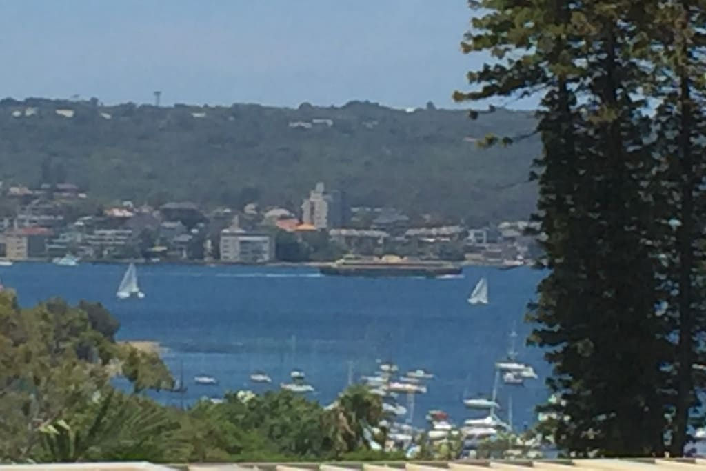 View across to Manly