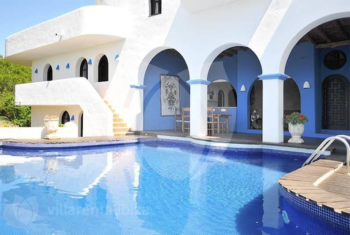 "Amazing villa ""Can Nirvana"" in the west of Ibiza"