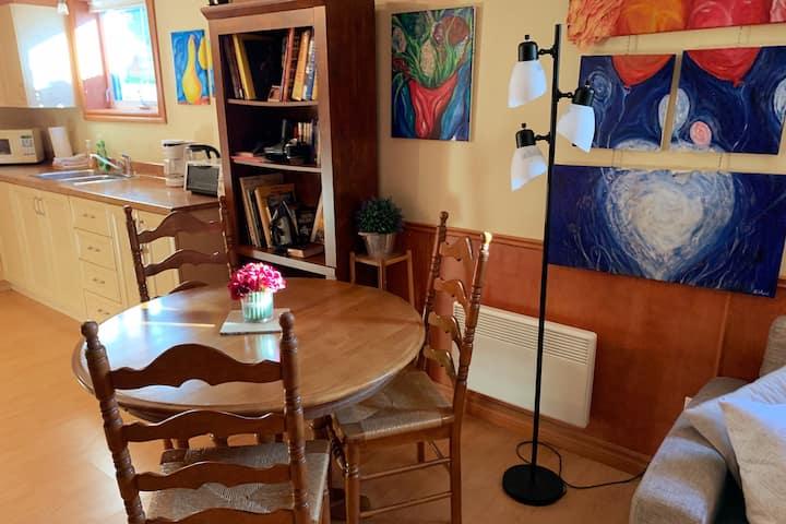 Studio apartment downtown Ste-Foy