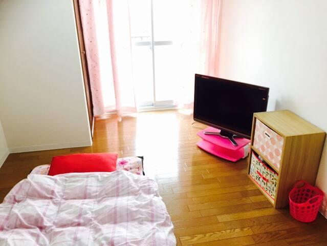 Stay with me(a Japanese girl)! 2 stations to USJ - Ōsaka-shi - Wohnung