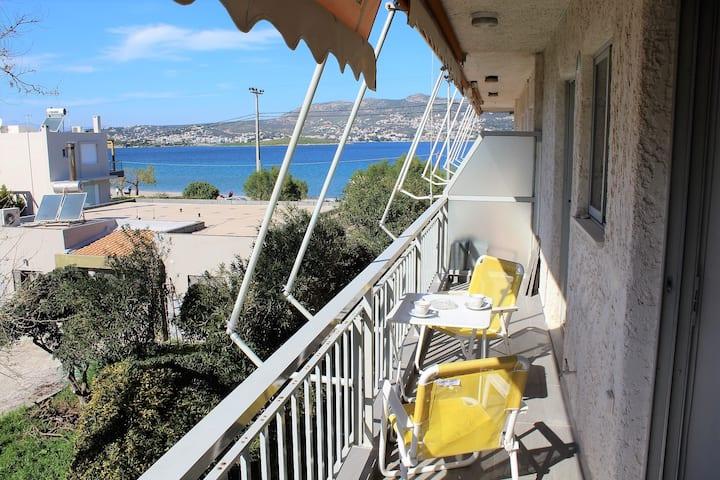 Apartment SEA VIEW near the beach.