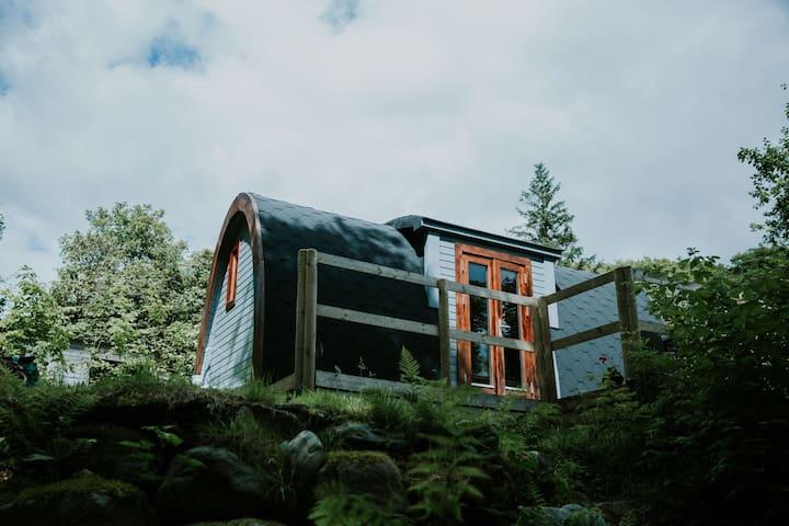 Snowdonia Luxury cabin, *NEW Hot tub* Pet Friendly