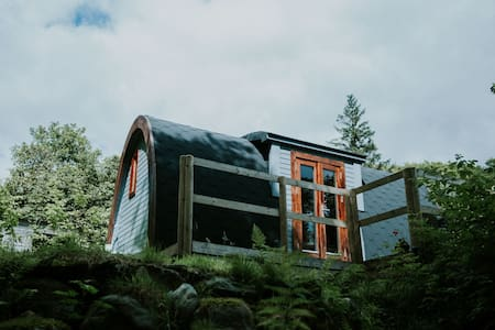 Snowdonia Luxury cabin, *NEW Hot tub* Pet Friendly