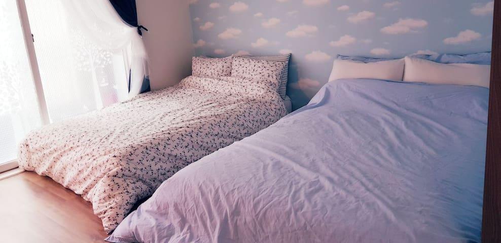 [아름드리]청주 #6인 #투룸 #아파트 #주차가능 #Wi-Fi #Cosy house