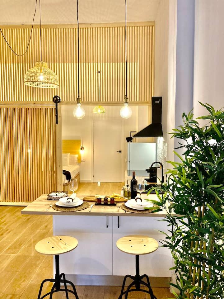 Enriqueta Luxury Loft (Jacuzzi)