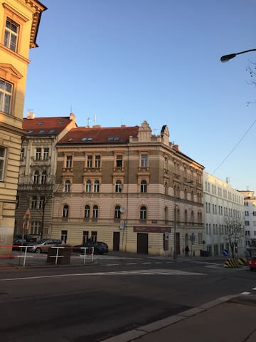 Awesome flat, 10 minutes from city centre - Prague - Apartmen