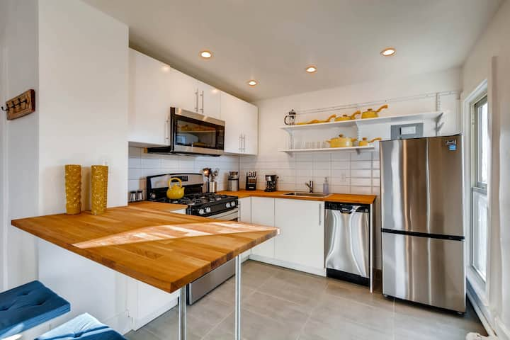 Monthly Furnished Apt Few Blocks South of Downtown