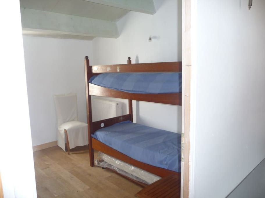 chambre d'enfants, 3 couchages