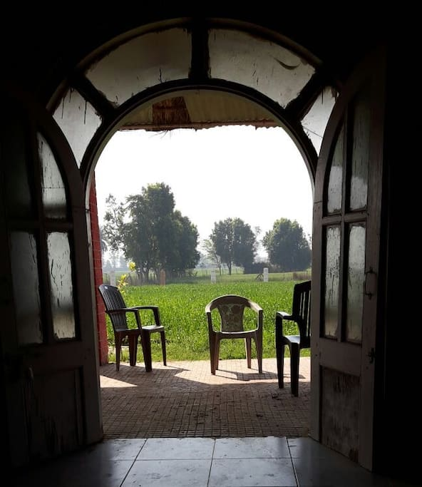 View from Living Room of the Farm