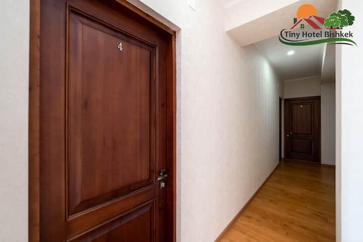 Single Room #4 in Tiny Hotel Bishkek