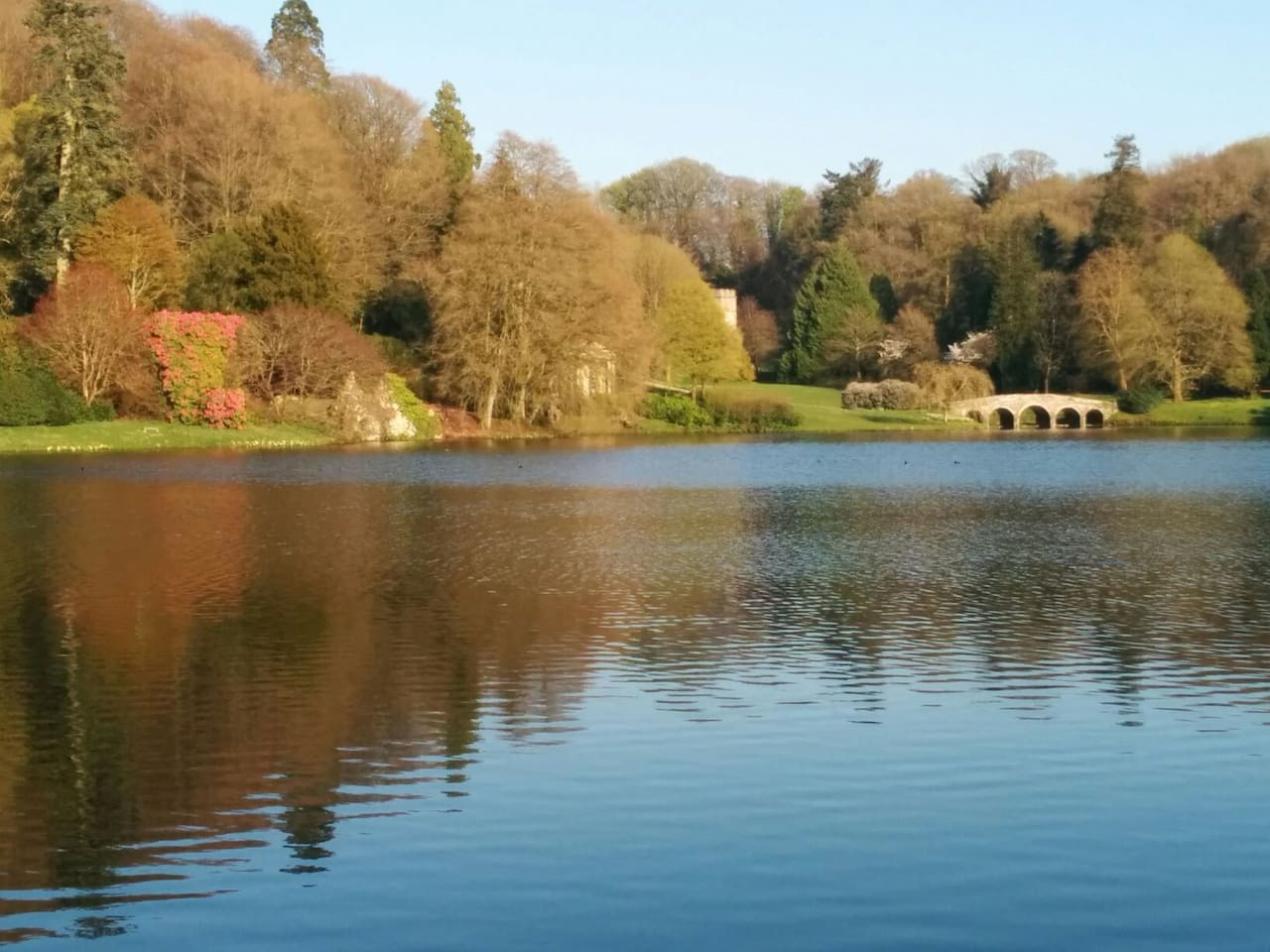 Stourhead gardens just 3 miles away.