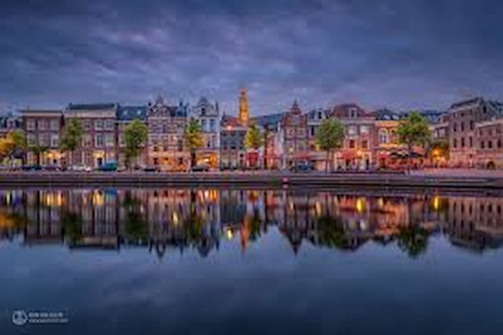 Haarlem in the evening