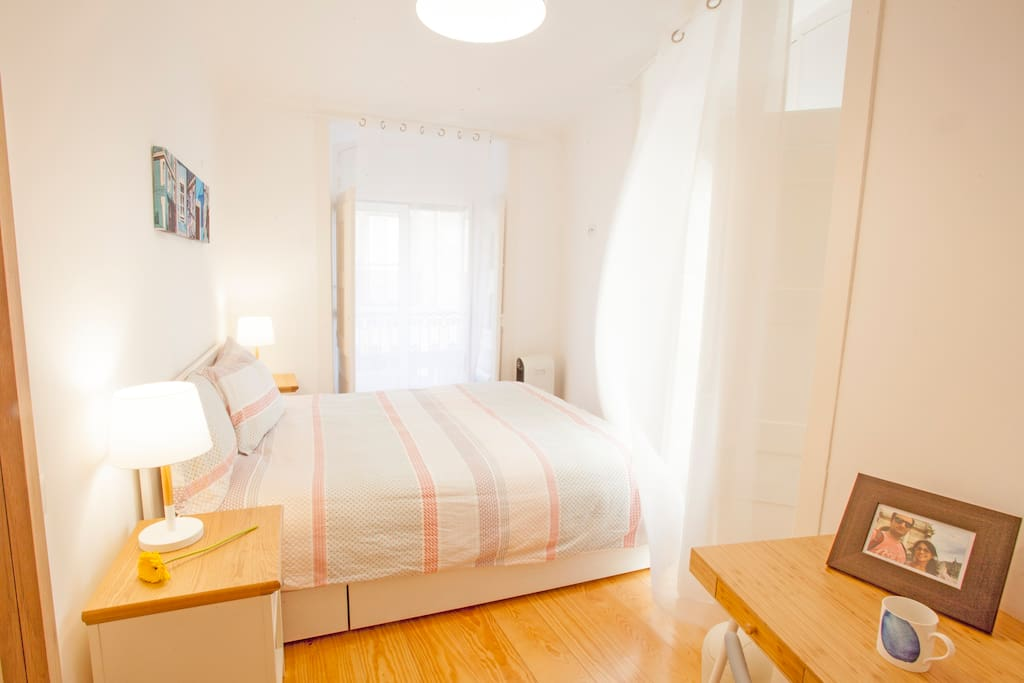 The main bedroom, for two people