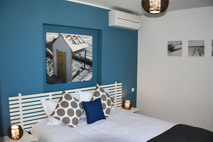 CasaMar - Chambre Bord de mer B&B - accès piscine
