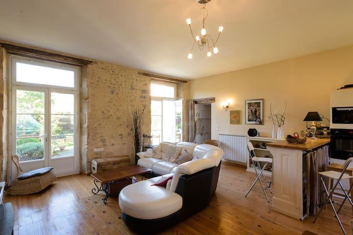 Appartement avec jardin, proche centre ville - Limoux - Appartement
