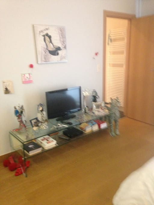 chambre avec TV