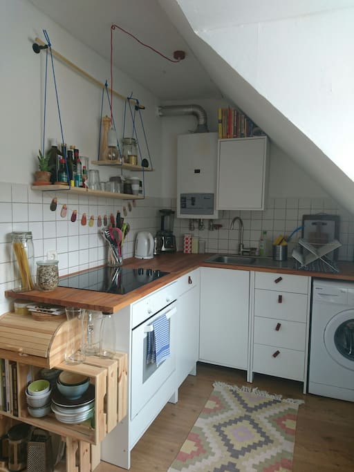 Cozy kitchen, equipped with everything you need