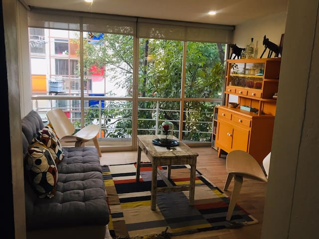 Beautiful and sunny artist studio