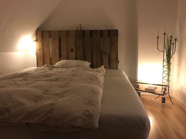 Tolles Zimmer mit Waldblick - Groß Kummerfeld - Oda + Kahvaltı