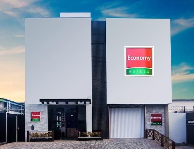 Economy Suites - LOCALIZAÇÃO PRIVILEGIADA