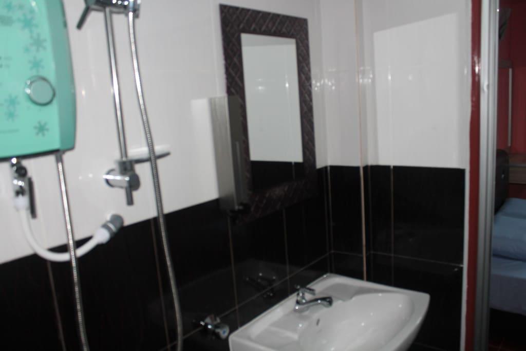 toilet in each room