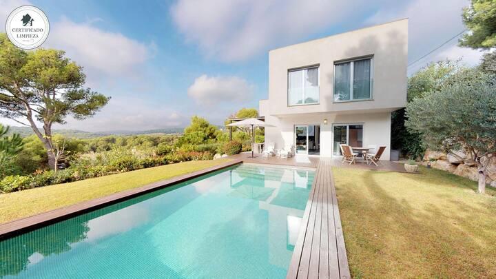 EXMORA-house with swimming pool-Tamariu-Costa Brava