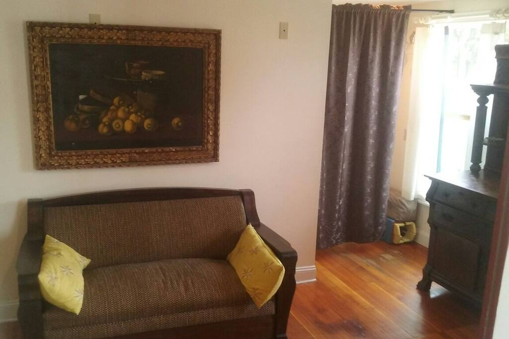 Convertible couch and bed