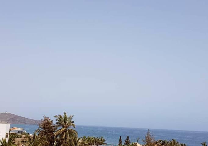 appartement corniche des almadies-vue mer