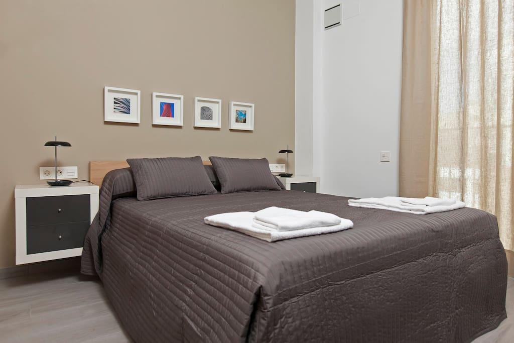 Habitación 1 - cama matrimonio
