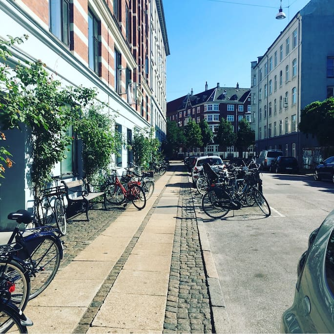 Look to the left and you are at Sønderboulevard