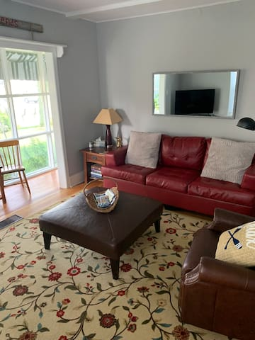 Pull out queen sofa (new)