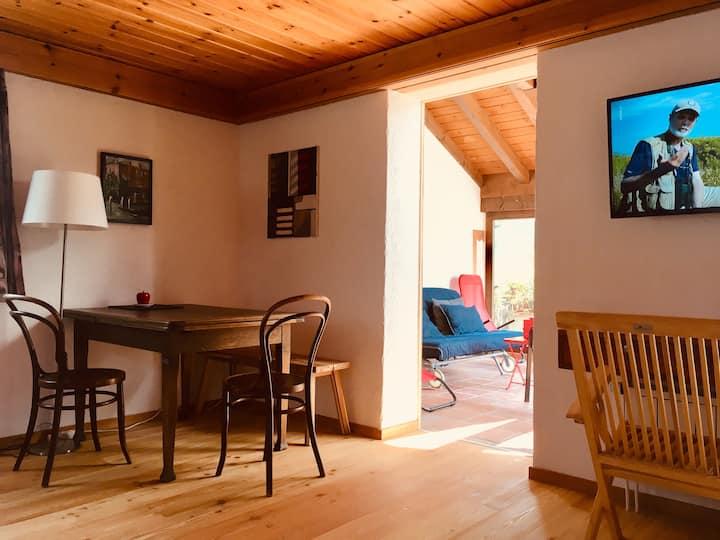 Appartement mit Wintergarten und Dachterrasse