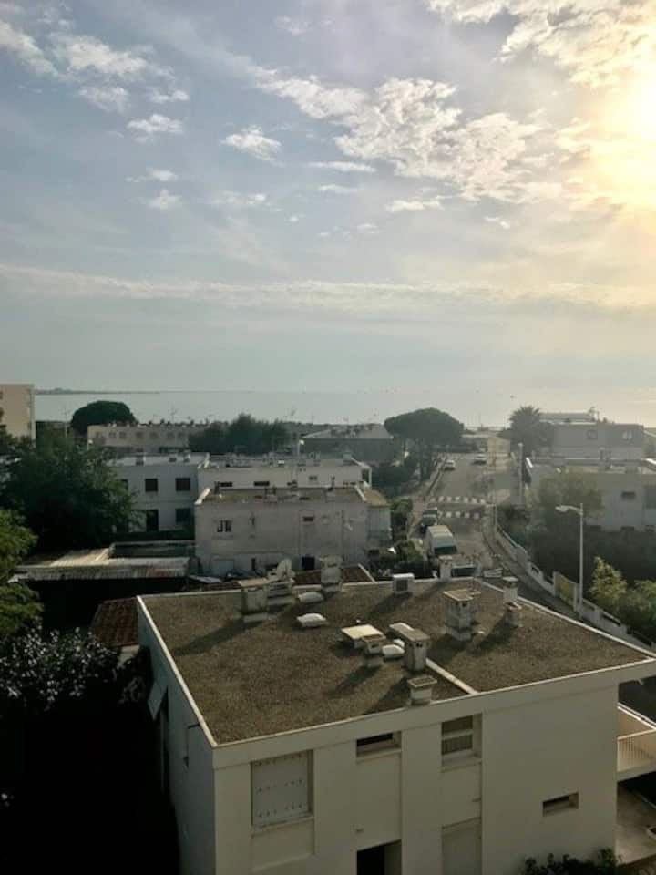 AS16246 - Studio at Boucanet with beautiful sea view