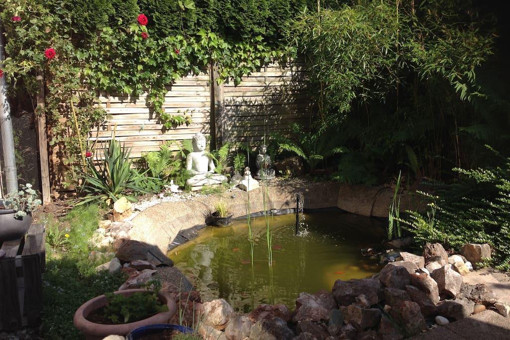 Garten zum Verweilen....