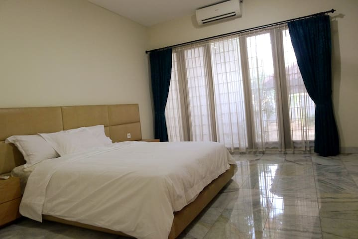 Master bedroom in a house, Kemang