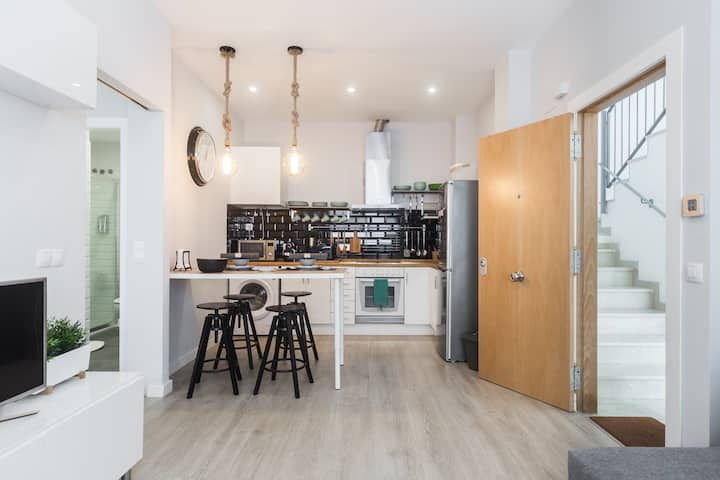 Elegante apartamento mediterráneo WIFI! VT-46427-V