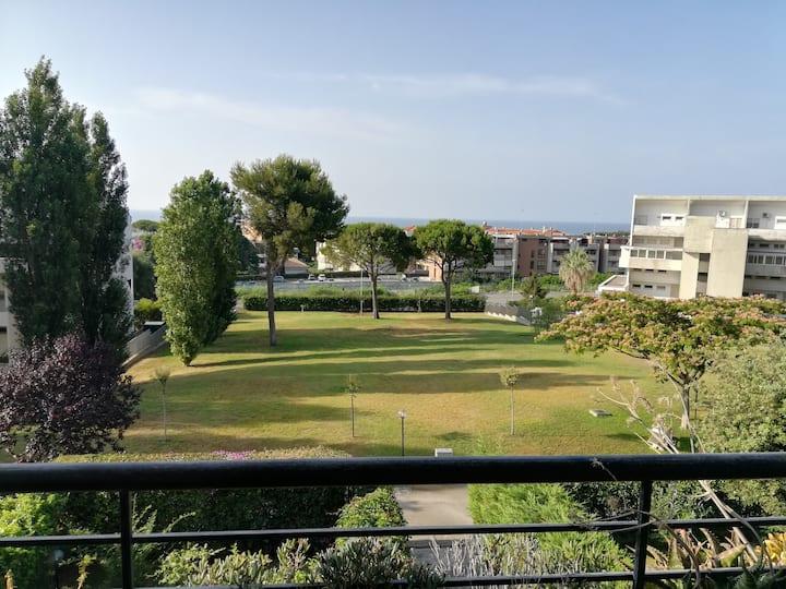 Appartamento vista mare a 300m dalla spiaggia